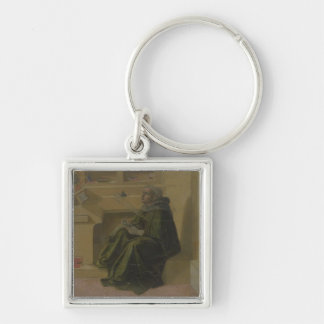 St. Augustine in his Study (predella of the Barbad Key Chains