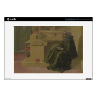 St. Augustine in his Study (predella of the Barbad Laptop Decals