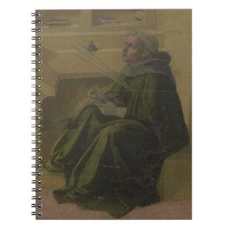 St. Augustine in his Study (predella of the Barbad Notebooks
