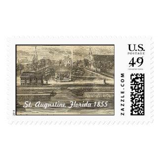 St Augustine, la Florida 1855 Sellos Postales