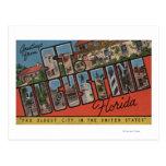 St Augustine, la Florida - escenas grandes 2 de la Postal