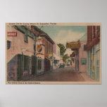 St Augustine, la Florida - vista del St. de San Jo Posters