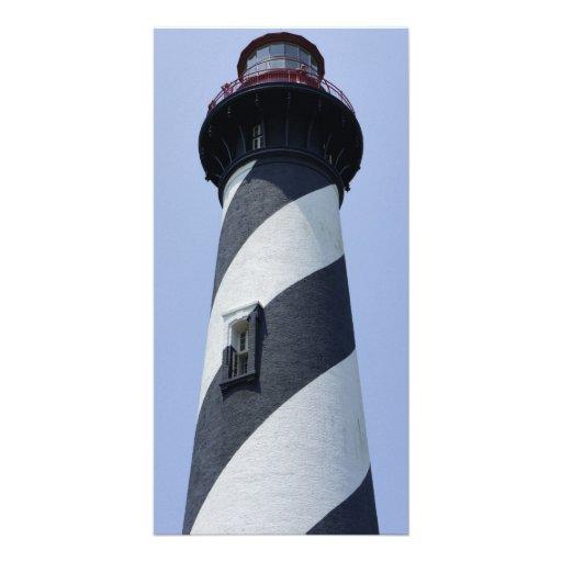 St. Augustine Light Customized Photo Card