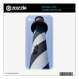 St. Augustine Light iPhone 4 Skin