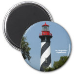 St. Augustine Lighthouse 2 Inch Round Magnet