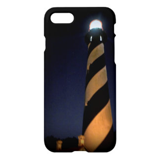 St. Augustine Lighthouse at Night iPhone 8/7 Case