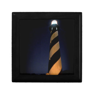 St. Augustine Lighthouse at Night Jewelry Box