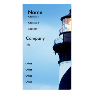 St Augustine Lighthouse Double-Sided Standard Business Cards (Pack Of 100)
