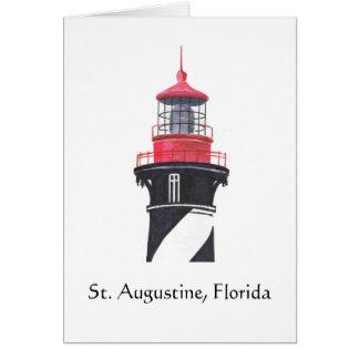 St. Augustine Lighthouse Card