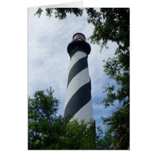 St. Augustine Lighthouse - Card