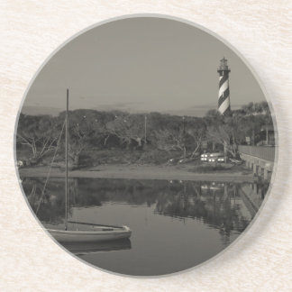 St. Augustine Lighthouse Early Morning Sandstone Coaster