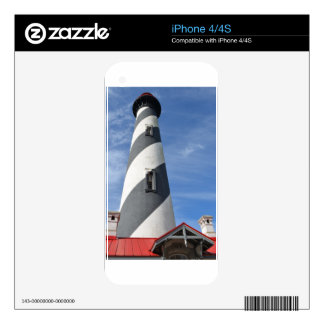 St. Augustine Lighthouse iPhone 4 Skin