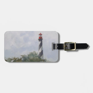 St. Augustine Lighthouse Luggage Tag