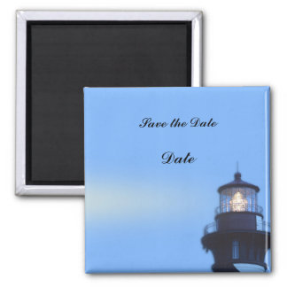 St Augustine Lighthouse 2 Inch Square Magnet