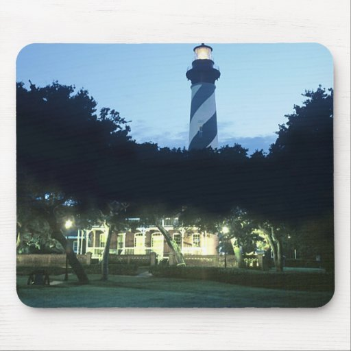 St Augustine Lighthouse Mouse Pad