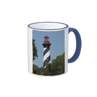 St. Augustine Lighthouse Ringer Mug