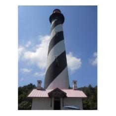 St. Augustine Lighthouse, St. Augustine Florida 2 Postcard at Zazzle