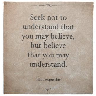 St. Augustine Napkin