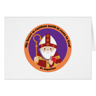 St Augustine of Hippo Cards