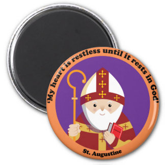 St. Augustine of Hippo Refrigerator Magnets