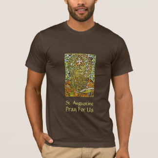 St. Augustine Of Hippo Men's Graphic T-Shirt