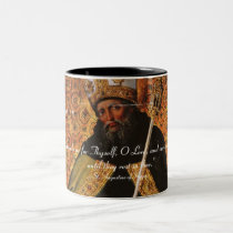 St. Augustine of Hippo Our Hearts Two-Tone Coffee Mug