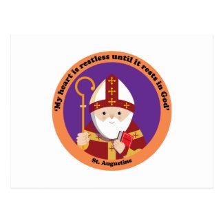 St Augustine of Hippo Postcard