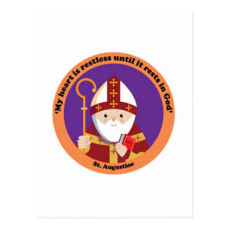 St Augustine of Hippo Postcards