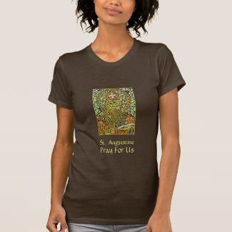 St. Augustine Of Hippo Women's Graphic T-Shirt