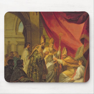 St. Augustine  ordained as the Bishop Mouse Pad