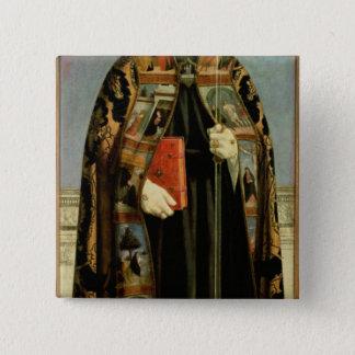 St. Augustine Pinback Button