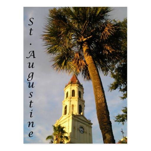 St Augustine, postal de FL