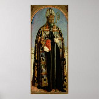 St Augustine Póster