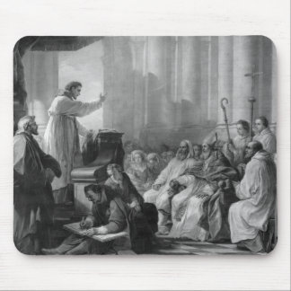 St. Augustine preaching Mouse Pad