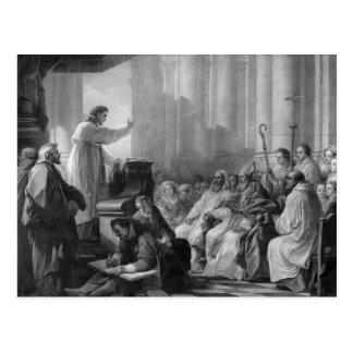 St. Augustine preaching Postcards