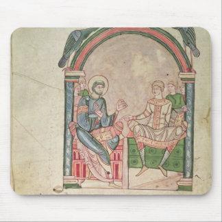 St Augustine que discute con Faustus Alfombrilla De Raton
