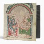 "St Augustine que discute con Faustus Carpeta 1 1/2"""