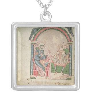 St Augustine que discute con Faustus Colgante Cuadrado