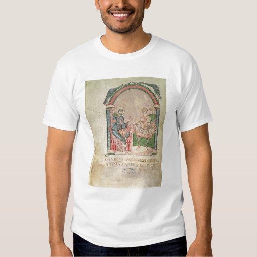 St Augustine que discute con Faustus Polera