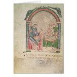 St Augustine que discute con Faustus Tarjeta De Felicitación