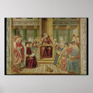 St. Augustine Reading Rhetoric Poster