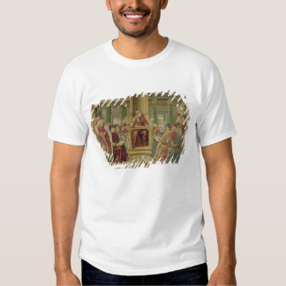 St. Augustine Reading Rhetoric Tee Shirts