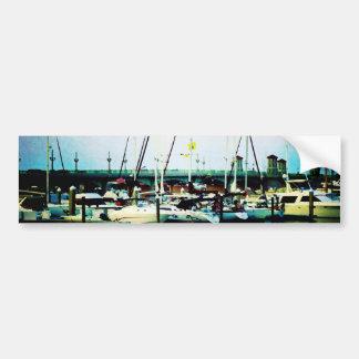 St. Augustine Sailboats Bumper Stickers