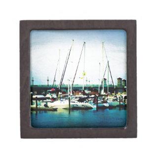St. Augustine Sailboats Keepsake Box