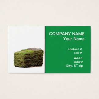 St. Augustine sod Business Card