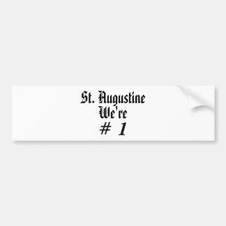 St Augustine, somos, #, 1 Pegatina Para Auto