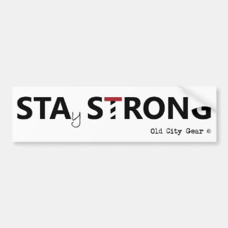 St. Augustine - Stay Strong Bumper Sticker
