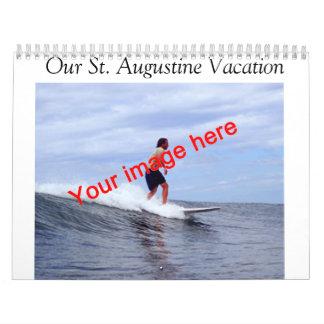 St. Augustine Vacation Calendar