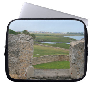 St Augustine view from castle Computer Sleeves