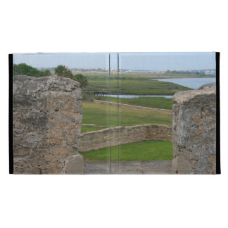 St Augustine view from castle iPad Cases